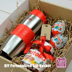 DIY Personalized Gift Baskets