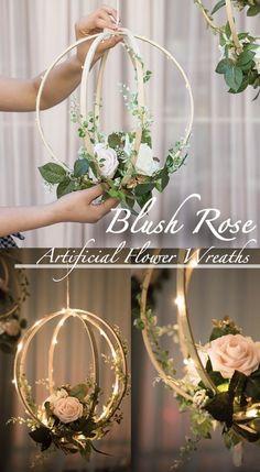 Diy Wedding, Wedding Flowers, Wedding Ideas, Wedding Reception, Perfect Wedding, Open Rose, Blush Roses, Ivory Roses, White Roses