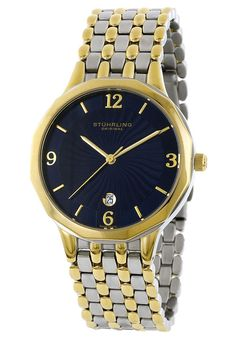 Price:$94.43 #watches Stuhrling Original 603.32226, Created in a blend of fashion and class, this Stuhrling timepiece exhibits a bold style that adds flare to your collection.