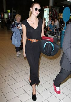 Candice Swanepoel's Best Model-Off-Duty Moments via @WhoWhatWear