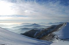 Falakro ski center - near Drama, Macedonia, Greece Macedonia Greece, Sports Sweatshirts, Nature Images, World Best Photos, Greece Travel, Planet Earth, Drama, Adventure, Places