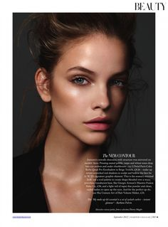 Barbara Palvin by Jonas Bresnan for Harper's Bazaar UK Beauty