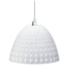 Stella S Hanging Lamp, Transparent White by Koziol at Dotmaison