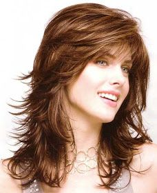 Find great deals for Long Body Loose Layered Wave Bangs Capless Synthetic Wig 16 Inches Cosplay Wig Long Face Hairstyles, Haircuts For Long Hair, Long Hair Cuts, Brunette Hairstyles, Pretty Hairstyles, Prom Hairstyles, Layered Hairstyles, Vintage Hairstyles, Easy Hairstyles