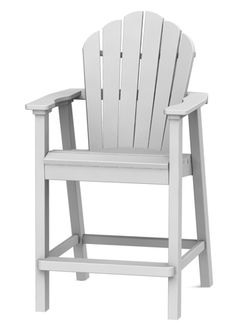 Adirondack Classic Balcony Chair - Seaside Casual Furniture