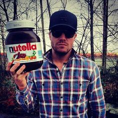 Stephen Amell @1967kitty found your Christmas present XD  So glad you found this ~ love it!