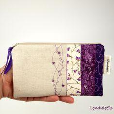 Lendule53 - kreativ: Fialka , violka ke kabelce :o)