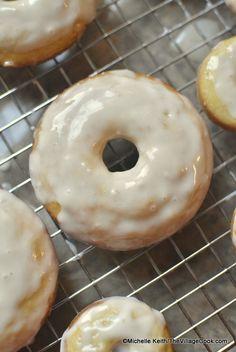 baked sour cream doughnuts