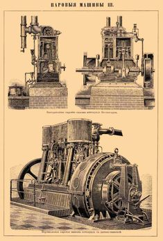 High-speed vertical steam engine Westinghouse