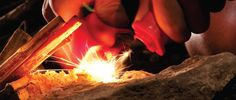 Things Guys Should Know, Vol. 2: How to start a fire without matches #scouting #fire #hacks #BSA