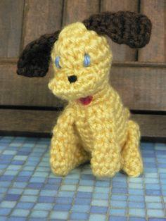 Danny Dog - Free Amigurumi Pattern here: http://www.yarnspirations.com/blog/danny-dog-amigurumi