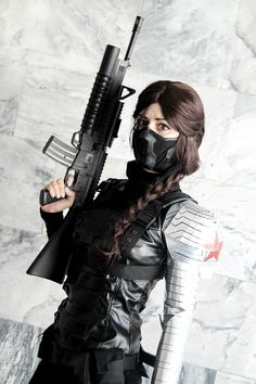 winter soldier fem bucky barnes cosplay - Google Search