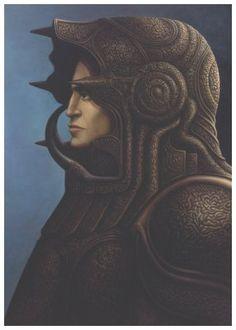 ✯ Warrior .:☆:. Artist George Underwood ✯