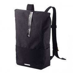 Brooks England Hackney Backpack Rucksack 15 Zoll Laptop Tasche I Wasserdicht I Unisex I Design-Deli