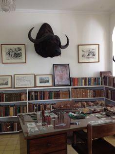 Hemingway's office.