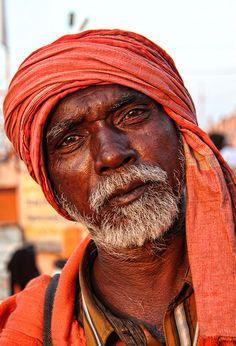 Man from Haridwar, India