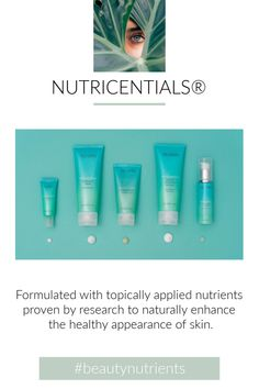 Beauty nutrients for Combination to Oily & Normal to Dry skin types.