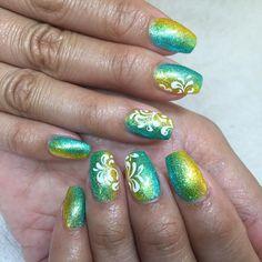 #naglar #neon #nails #gelenaglar #lightelegance #nailselection #nailart #nailswag #salong #stockholm #gelnails #gel #manicure #förlängning #förstärkning #instanail #handpainted #nailtec #nailcode #nagelterapeut #nailstagram #nailpicture #bling #glitter #nailselection #liisasterming #sommar by stermingsnaglar