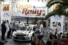 02 SIRMACIS Ralfs and SIMINS Artur SKODA FABIA R5 action during the 2016 European Rally Championship ERC Cyprus Rally,  from october  7 to 9  at Nicosie, Cyprus - Photo Gregory Lenormand / DPPI