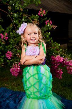 Halloween Costume - Little Mermaid... i love this idea to cute
