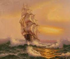 Картинки по запросу картины кораблей парусников