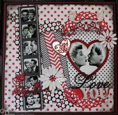 Retro Romance - A DT Project for Gina's Designs - Scrapbook.com