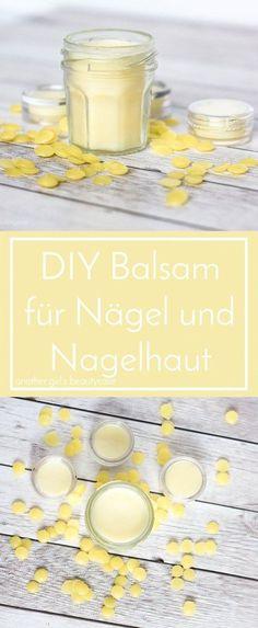 Ein einfaches Rezept für ein super effektives Nagelpflege-Balsam. Pflegt Nagel und Nagelhaut und wirkt entzündungshemmend - mit nur zwei einfachen Zutaten!