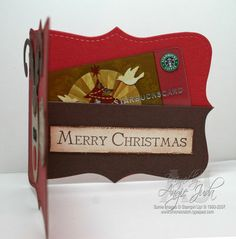 Reindeer Gift Card inside