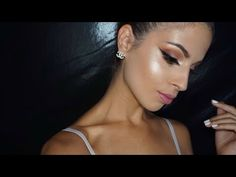 Strobing, what is it? Its basically highlighting your face for a lovely glow and avoiding all contouring/ bronzing! I love it i think it is a lovel. Makeup Tutorials Youtube, Beauty Tutorials, Video Tutorials, Strobing Makeup, Face Makeup, Makeup For Blondes, Beauty Make Up, Glamour, Paint