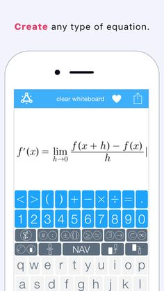 Nuten - The Math and Science Keyboard ($0.00) Quickly create & share equations on your iPhone. • Fractions, simple & more complicated stacks,  • Equations with superscript and subscript • Geometry symbols • Trigonometric functions • Simple and complex algebraic expressions...more