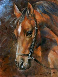 Arthur Braginsky Head Horse painting - Head Horse print for sale Pretty Horses, Beautiful Horses, Pinterest Pinturas, Arte Equina, Graffiti Kunst, Horse Artwork, Horse Drawings, Horse Print, Equine Art