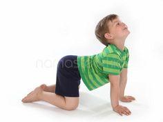 giraffe pose via namaste kid  yoga poses for kids