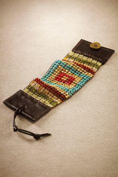 Beaded Bracelet...Bead Loom Weaving