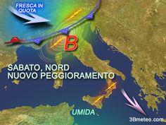 Cosa ci attende nel weekend dal punto di vista #meteo #Italia