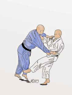 Harai-tsurikomi-ashi: Lifting pulling foot sweep