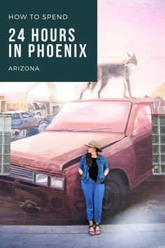 How to spend one day in Phoenix, Arizona when you only have 24 hours. Check out the best Phoenix, AZ restaurants, visiting the botanical gardens, check out the murals, take a day trip hike...the options are endless for Phoenix, AZ in one day. Consider this your ultimate one day Phoenix itinerary! Desert Botanical Garden, Botanical Gardens, Poke Place, Roosevelt Row, Visit Phoenix, Phoenix Art Museum, Downtown Phoenix, Unique Restaurants, Hampton Inn