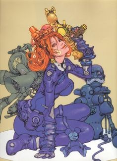 Katsuya Terada | Girls Concept Art | Pinterest