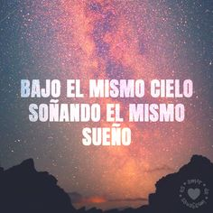 bonita imagen chida de cielo con frase de amor | amordeimagenes.es