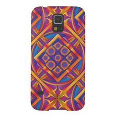 Abstract Geometric Mandala Cases For Galaxy S5