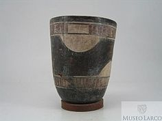 Black And White Painting, Peru, Shot Glass, Pottery, Inca, Culture, Tableware, Bottles, Inspiration