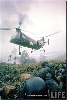 Vietnam War Pictures In Color | Helicopters of the Vietnam War - Stingray's Rotorcraft Forum