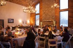 Rustic Wedding Lodge venue - Bemus Point, NY - Reception