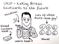 UKIP - Taking Britain Backwards to the Future