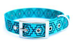 Geo Print Collar, Electric Blue on OneKingsLane.com
