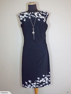 Stunning Black & Beige Print Side Gathers Dress for sale on Trade Me, New Zealand's auction and classifieds website Enlarge Photos, Close Up Photos, Abstract Print, Dress Brands, Beige, Fashion Outfits, This Or That Questions, Formal Dresses, Fashion Design