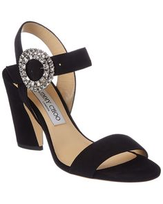 fbe901e799e075 JIMMY CHOO JIMMY CHOO MISCHA 85 SUEDE SANDAL.  jimmychoo  shoes