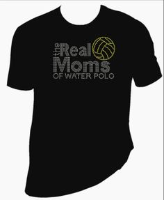 Real Moms of Water Polo Rhinestone Shirt by BlingSt on Etsy, $25.00