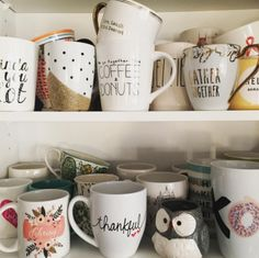 It's safe to say we have a mug addiction. We Love Mugs!   #LGlimitlessdesign #contest
