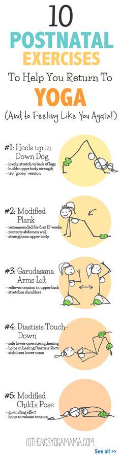 Post Pregnancy Yoga After C Section | Pain d'epices ...