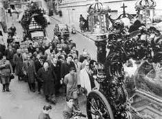 Lucky Luciano Funeral procession